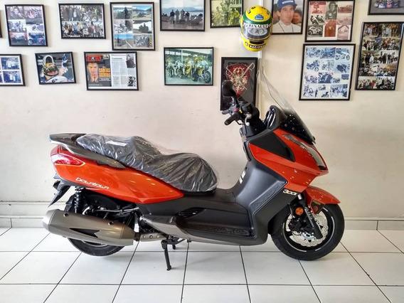 Kymco Downtown 300i 0km 2019 Laranja - Moto & Cia