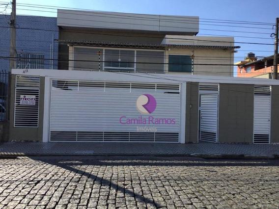 Salão Comercial Para Alugar, 400 M² - Vila Urupês - Suzano - Sl0057