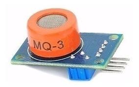 Mq-3 Modulo Sensor Etanol Álcool, Para Arduino