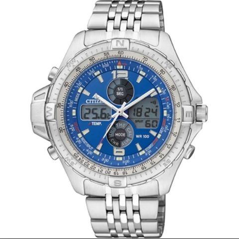 Relógio Citizen Promaster Combotemp Js-1046-55l Js1045