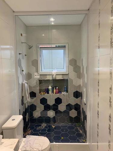 Imagem 1 de 5 de Box De Banheiro Janelas E Portas Em Vidros Temperados