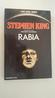 Rabia Stephen King 1ra Edición.