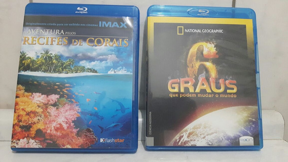 Kit Com 2 Blu -rays Disc Originais.