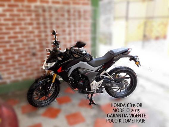Honda Cb190r Negra