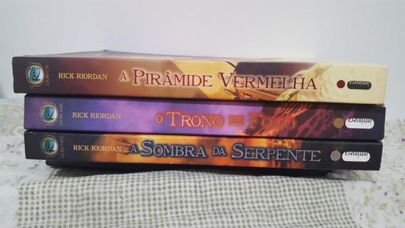 As Crônicas Dos Kane (3 Livros)