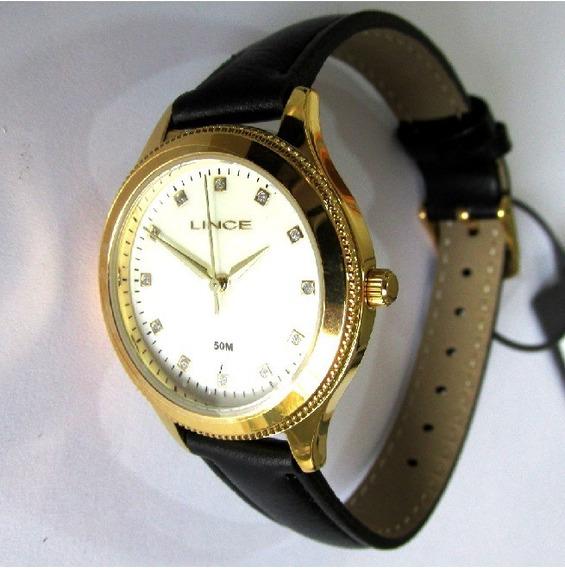 Relógio Lince Feminino Kit Cordão Brinco Lrc4395l Kt16