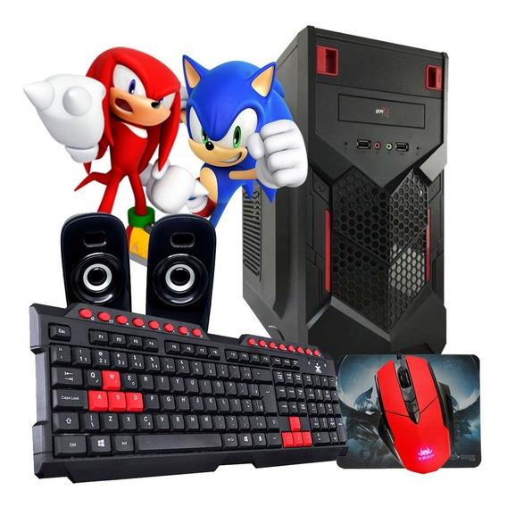 Pc Gamer Barato / 8gb / 500gb / Geforce + Kit Gamer