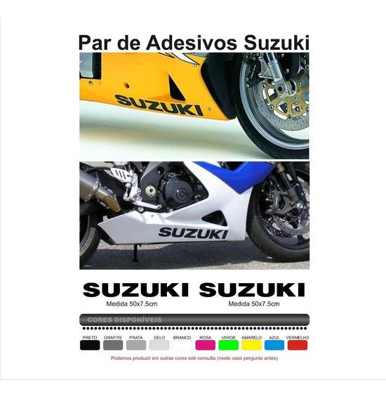 Par Adesivos Suzuki Gsx 650f 650r 750f 750r Srad 1000 Gsxr