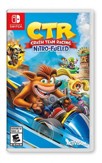 Crash Team Racing Nitro Fueled- Nintendo Switch