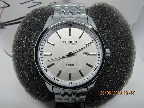Relógio Masculino Curren Luxo 8052 Original C/ Nota Garantia
