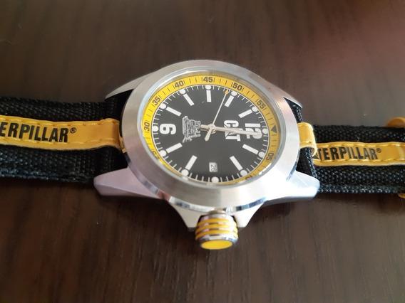 Relógio Analógico Caterpillar Big Twist Amarelo