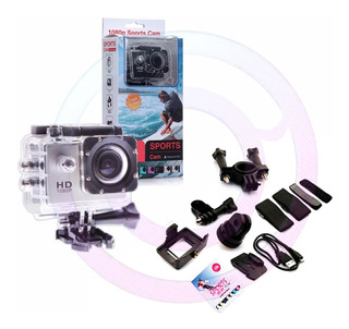 Camara Video Deportiva Para Moto Sumergible 30 Mts +obsequio