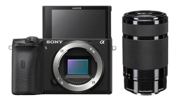 Sony A6600 Com Lente E 55-210mm F/4.5-6.3 - Lj. Platinum