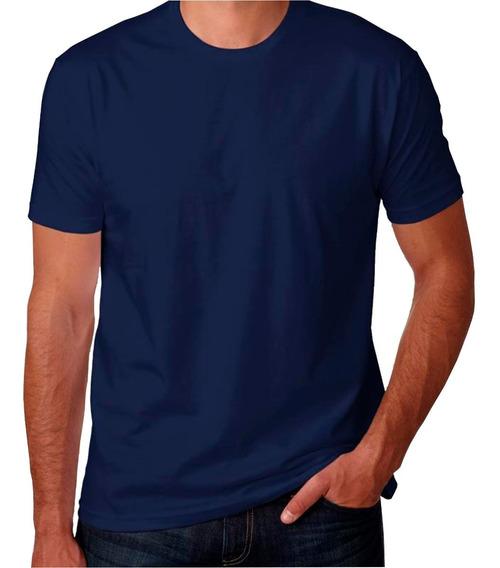 Camiseta Masculina Básica T-shirt Algodão Fio 30.1 Premium