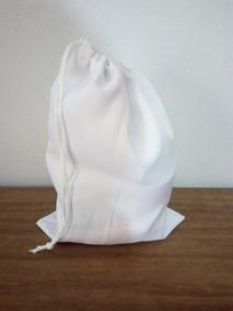 15 Sacolinhas Surpresa De Tecido Branca P/ Sublimação