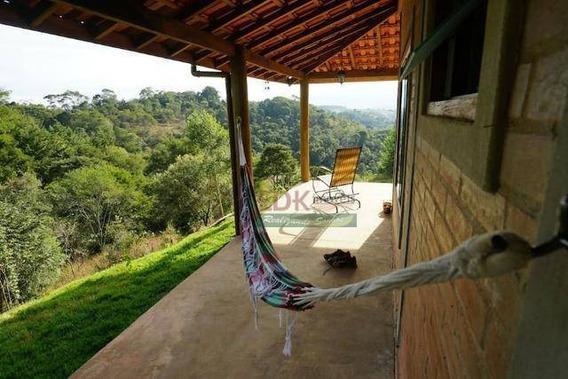 Chácara Com 2 Dormitórios À Venda, 1500 M² Por R$ 350.000,00 - Pinhalzinho - Santo Antônio Do Pinhal/sp - Ch0119