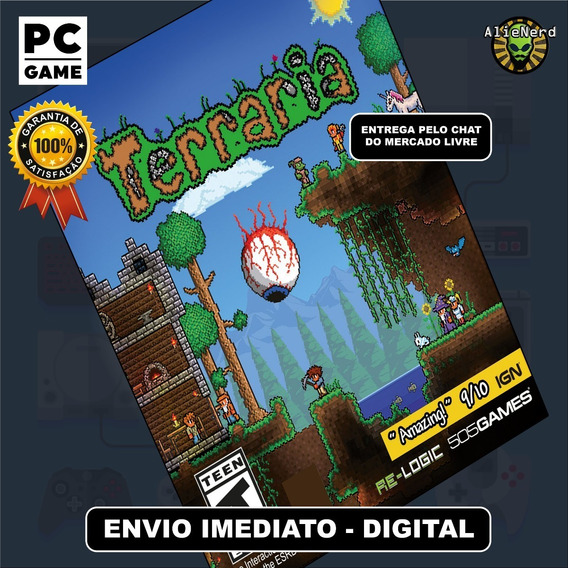 Terraria - Pc - Mídia Digital