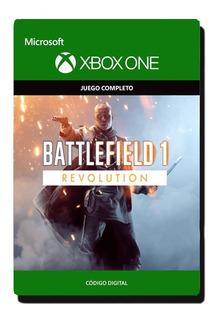 Battlefield 1 Revolution + Btf 1943 Xbox One Originales