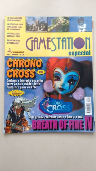 Revista Gamestation 6 Chrono Cross Breath Of Fire Iv F870