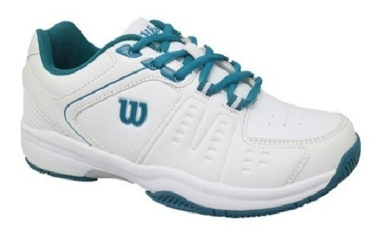 Zapatillas Tenis Wilson Mujer Game White Silver (l3w1) S+w