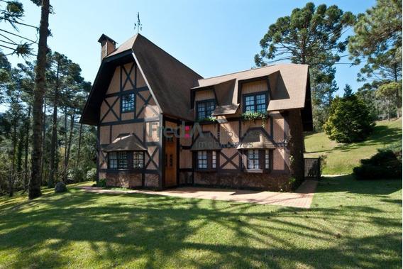 Fazenda No Sul De Minas Com 37 Alqueires Casa Com 4 Suítes, - Fa1159