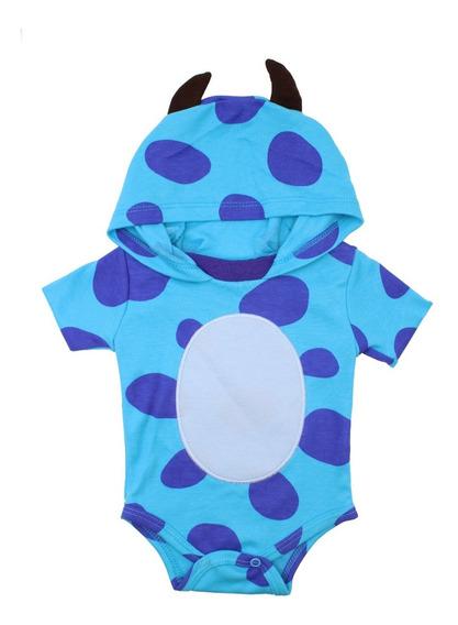 Pañalero Disney Sullivan Con Capucha Disfraz Monsters 5615