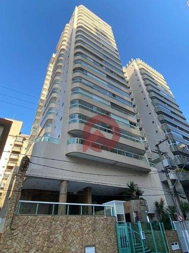 Cobertura Com 3 Dormitórios À Venda, 350 M² Por R$ 1.890.000 - Canto Do Forte - Praia Grande/sp - Co0059