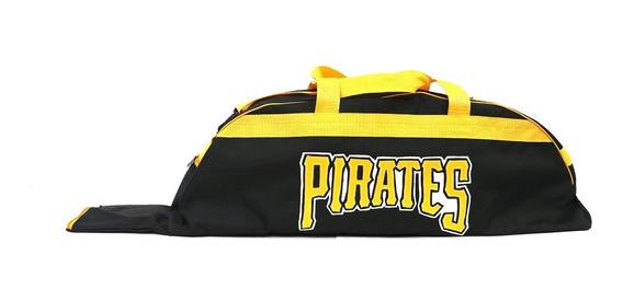 Bonita Batera Mochila De Beisbol Piratas Negro Juvenil