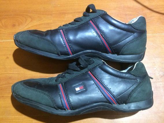 Zapatillas Tommy Hilfiger, Hombre,negras, 40.5