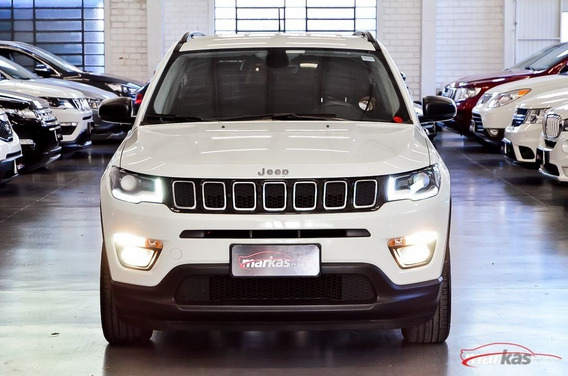 Jeep Compass Sport 2.0 166hp Flex Unico Dono 41 Mil Km