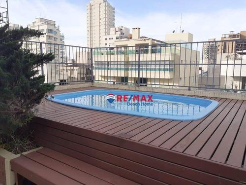 Imagem 1 de 27 de Cobertura Duplex, Impecável, 02 Quadras Da Praia Da Enseada. Excelente Localização!! - Co0197