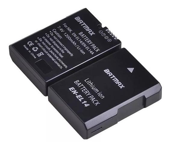 Bateria En-el14 P/ Nikon D5200 D5100 D5500 D3400
