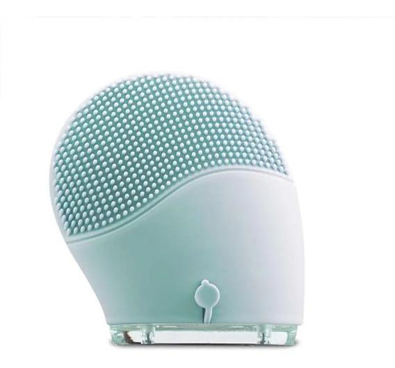 Escova Sônica Esponja De Limpeza Facial Massageador Recarregavel A Prova D