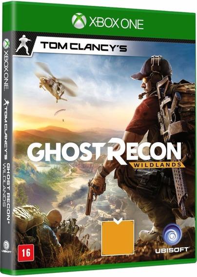 Jogo Ghost Recon Wildlands Xbox One Midia Fisica Cd Dublado