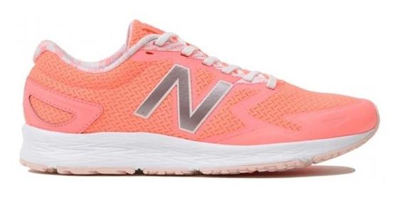 Zapatilla New Balance Wflshlf2 Running Dama Coral