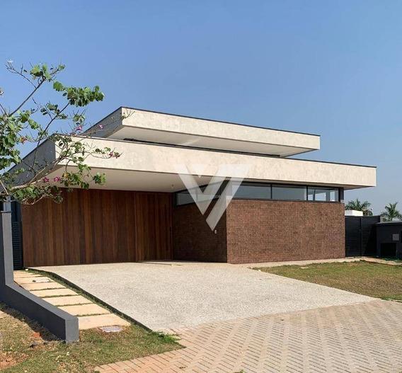 Casa À Venda - Alphaville Nova Esplanada Iii - Votorantim/sp - Ca0835