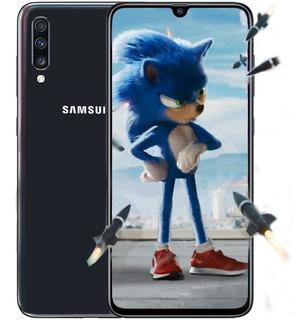 Samsung A70 128gb Rom 6gb Ram Triple Cámara 4g Lte Black Dog