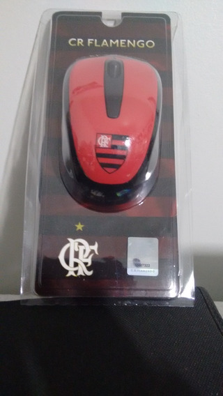 Mouse Original Do Flamengo Do Rj Licenciado