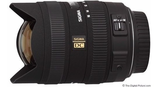 Lente Ultra Wide Sigma 8-16mm F/4.5-5.6 Dc Hsm Para Canon