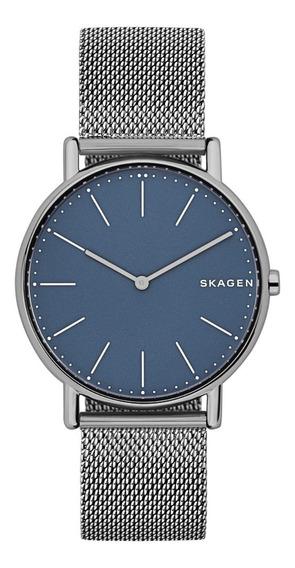 Reloj Caballero Skagen Signatur Skw6420 Gunmetal De Titanio