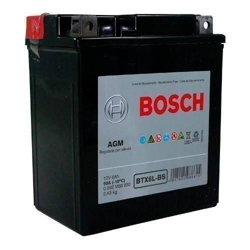 Bateria Moto Bosch Btx6l-bs Inmetro 13652
