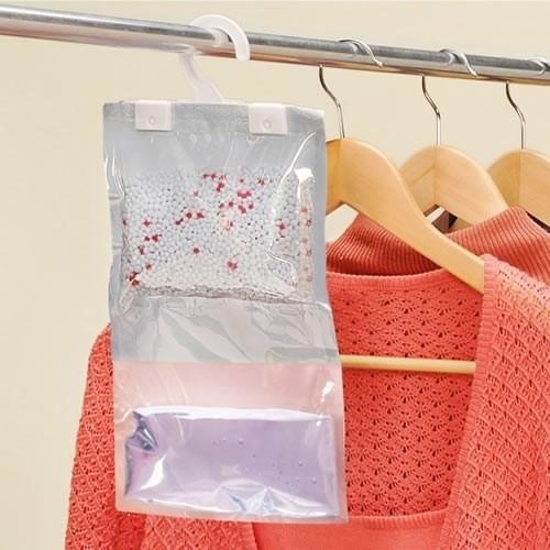 Kit 20 Antimofo Desumidificador Roupas Armário Closet Ordene Anti Mofo Drycloset Dry Closet Prático Descartável C/ Nota