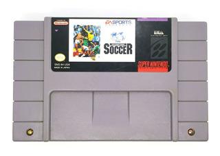 Fifa International Soccer Snes Super Nintendo Videojuegos Rock