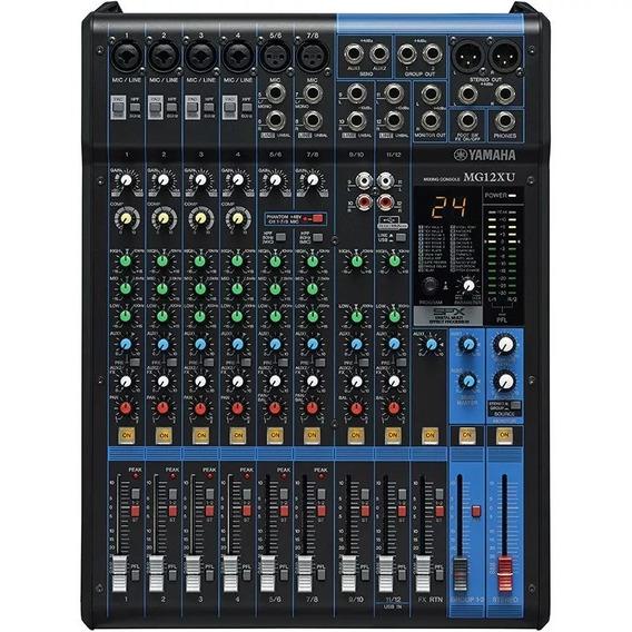 Mesa De Som Yamaha Mg12xu Usb Original Novo Promoção