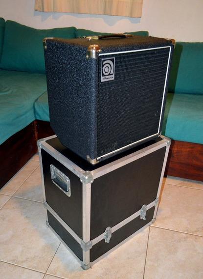 Amplificador De Bajo Ampeg Ba110 + Anvil ¡como Nuevo!