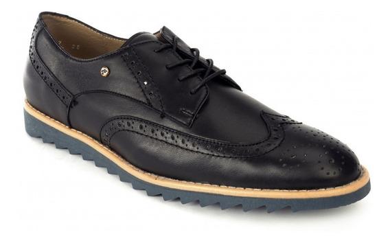 Zapato De Vestir Bostoniano Jarking 1020 Negro Caballero