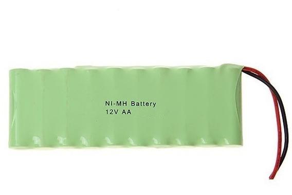 Bateria 12v Aa 2700mah Ni-mh Com 10 Células Aa Fio Terminal
