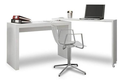 Mesa Escritorio Para Computadora Pc Blanco