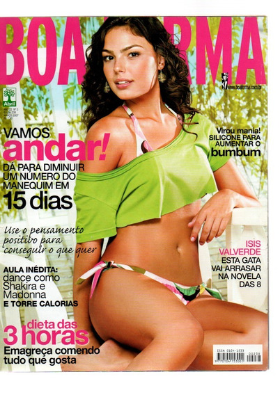 Revista Boa Forma Isis Valverde Nº 238