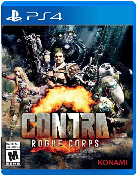 Contra Rogue Corps - Ps4 - Midia Fisica!